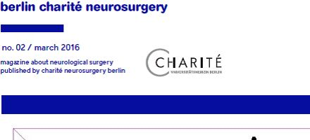 Bild: Deckseite des Journal Neurochirurgie b.c.n.